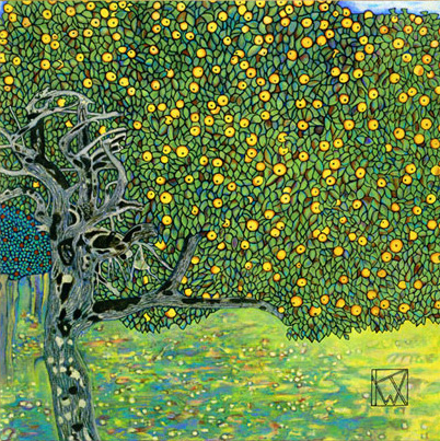 Golden Apple Tree 1903