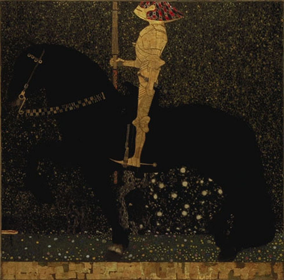 Gustav Klimt - The Golden Knight 1903
