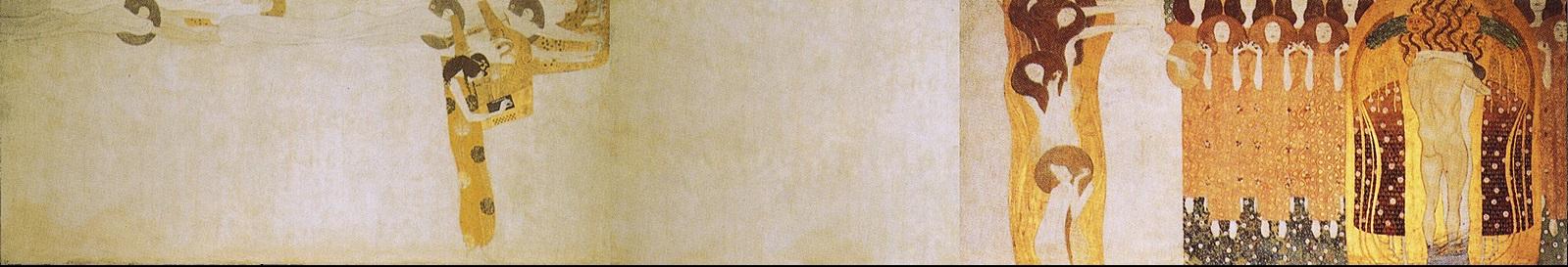Gustav Klimt Beethoven Frieze   art-Klimt.com